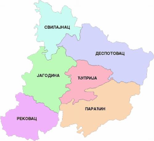 Jagodina region
