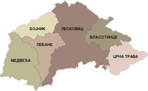 leskovac region
