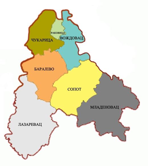 Mladenovac region
