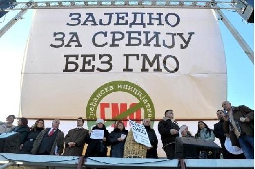 Ucesnici protesta-GMO